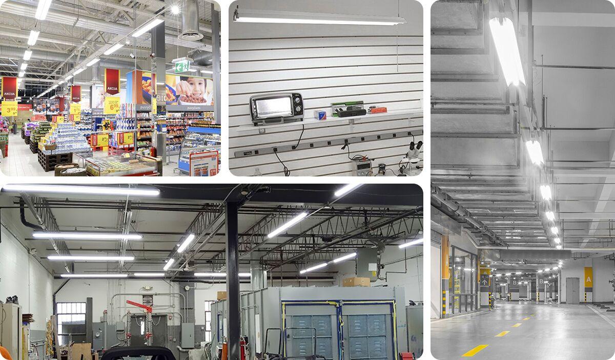 LED shop light Application